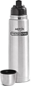 2b0da94ccea Milton flip lid 1000 ml Bottle Shaker Sipper Flask ( Pack of 1 Silver )