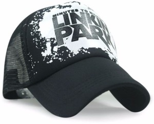 65f9e784d7f Friendskart Printed Linkin Park Printed In Black Colour Half Net Cap  Trucker Cap For Boys And Girls Best Price in India