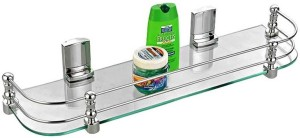 RIC807 807LHB20BY5ONEroyaL indian craft Long Hard Brackets 22 by 5 inch Glass Wall Shelf