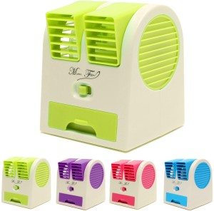 OSR TRADERS Mini Fragrance Air Conditioner H1_MINI_COOLER USB Air Freshener