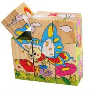 I Square Enterprises Insect theme wooden puzzle