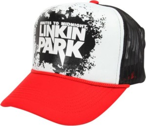 c725064d4cf Friendskart Linkin Park Red Colour Half Net Cap TruckerCap For Men s And  Women s Cap
