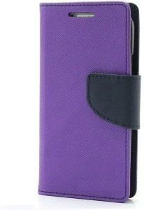 reputable site dcfab d8a3f GadgetM Flip Cover for Lyf Water 1 (LS-5002)Purple