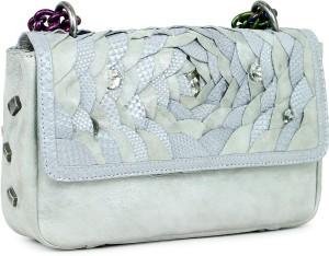 8180bb92789 Da Milano Sling Bag Silver 5 inch Best Price in India | Da Milano ...