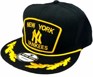Friendskart New York Yankees Hip Hop Style Cap In Black Colour Cap ... 291bef4c654