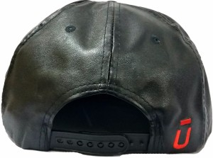 ced923658c1 Friendskart Self Design UNKUT Leather Hip Hop Cap In Black Colour For Mens  And Womens Cap