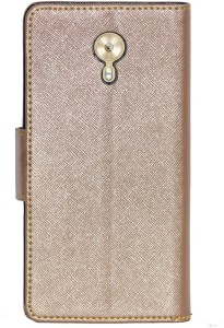 size 40 719c8 b9364 Gizmofreaks Flip Cover for Gionee A1Rose Gold