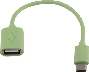 Gadget Phoenix Universal OTG Type C (Male)To Type A (Female) Green GP / Standard OTG Cable