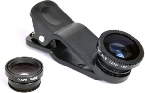 Profusse Pack of 3 Zoom Lens Universal size Mobile Phone Lens