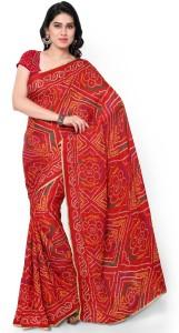 Fast n Fashion Printed Bollywood Crepe Saree