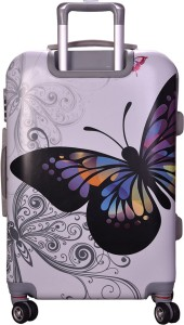 Fortune Butterfly Graphic Printed Check-in Luggage - 20 inch
