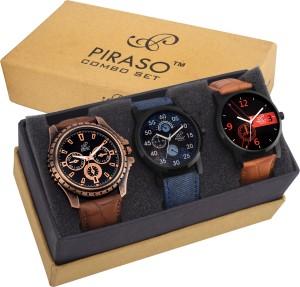 PIRASO PW3-9101 DECKER Analog Watch  - For Men