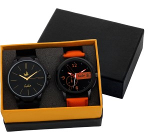 Hala Double Combination Elegant Summer Collection Analog Watch  - For Men