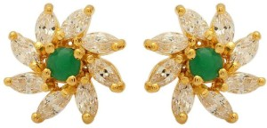 f5e07a2d7 Voylla Artificial Classic Embellished Crystal Brass Stud Earring ...