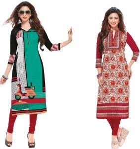 507d71896d Giftsnfriends Cotton Printed Dress Top Material Un stitched Best ...