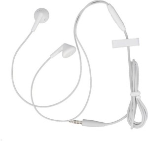 Vintage Vivo headset Wire Rope Clip Wired Headset Headphones with control panel (White) Wired Gaming Headset With Mic