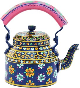 Craft Junction Handpainted Traditional Colourfull Decorative Tea