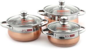 KCL Cook & Serve Kadhai 0.6 L, 0.85 L, 1.25 L