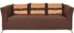 Furny Aldo Cozy Solid Wood 3 Seater Standard