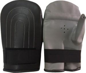 Le Buckle Straight Bag Gloves Boxing Gloves (Boys, Black, Grey)