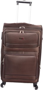 JOURNEY9 RAMBO 75_BROWN Expandable  Check-in Luggage - 28 inch