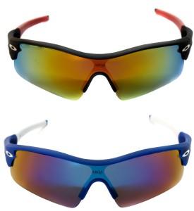 749881603f0 Abqa CYCLING CRICKET CRICKET GOGGLES 01 Sports Shield Sunglasses Multicolor  Best Price in India