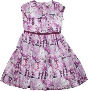 239b876de Allen Solly Junior Girl s Casual Dress Purple Sleeveless Best Price ...