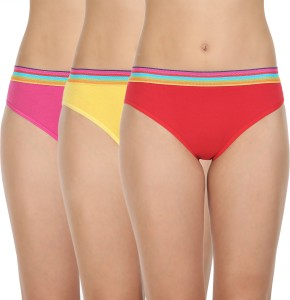 97d0d29a8aae Body Care Women s Bikini Multicolor Panty Pack of 3 Best Price in ...