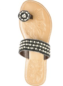 5df864940a47 La Boemo Women Black Flats Best Price in India