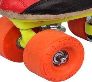 c19518946e0e JJ Jonex NICE ROLLO SHOES Quad Roller Skates Size 5 UK Red Black ...