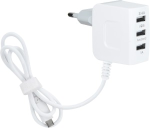 Cion 3 USB Port Wall Charger Adapter for all Smartphones Mobile Charger
