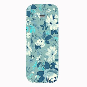 reputable site 1d986 b6ecd Painted Fern Back Cover for Samsung Guru Music 2 Duos B310EMulticolor