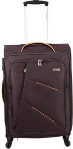 JOURNEY9 I-FLY 66_BROWN Expandable  Check-in Luggage - 24 inch