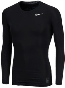 c1ea9e2b2ff9 Nike Solid Men s Round Neck Black T Shirt Best Price in India