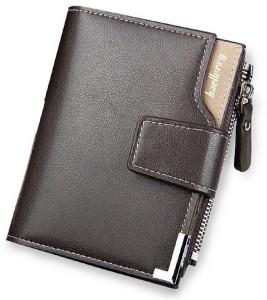 Baellerry Men Brown Genuine Leather Wallet
