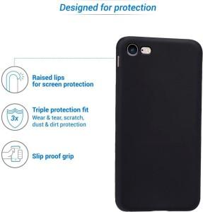Flipkart SmartBuy Back Cover for Apple iPhone 7Black