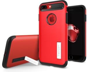 brand new 435b0 ddd9e Spigen Back Cover for Apple iPhone 7 PlusCrimson Red