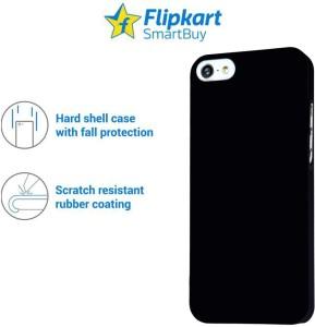 reputable site 7fd8b 797e7 Flipkart SmartBuy Back Cover for Apple iPhone 5SBlack