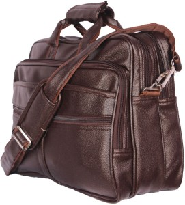 ece4cfc6b8 Goodwin 16 inch Laptop Messenger Bag Brown Best Price in India ...