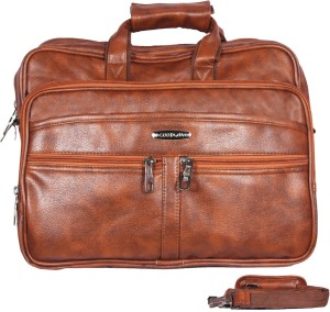 a6ac6fdc38 Handcuffs 16 inch Laptop Messenger Bag Brown Best Price in India ...