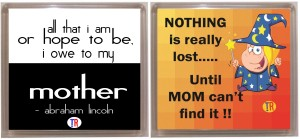 Thoughtroad MOM FIND IT Fridge Magnet