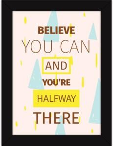 Inspirational Art Print Home Decor Wall Art Poster F
