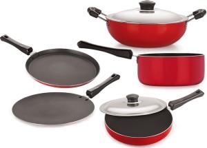 NIRLON Cooking Set Tawa, Pan, Kadhai Set