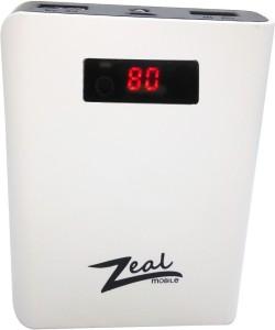 Zeal Z-10 DIGITAL Power bank POWERFULL CAPACITY 10400 mAh Power Bank
