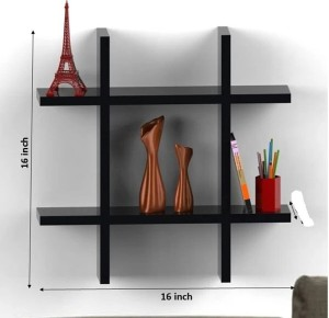 The New Look Plus Style Shelf Wooden Wall Shelf