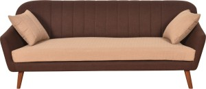 Furny Ozzie Compact Solid Wood 3 Seater Standard