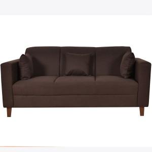 Furny Lleana Solid Wood 3 Seater Standard
