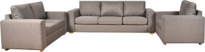 Furny Atlas Comfy Fabric 3 + 2 + 1 Grey Sofa Set