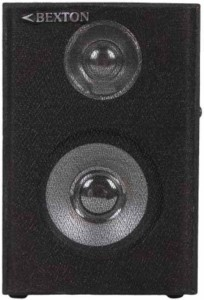 Bexton Multimedia Wooden 3.5 0mm AUX Portable Home Audio Speaker