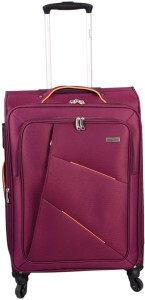 JOURNEY9 I-FLY 66_WINE RED Expandable  Check-in Luggage - 24 inch